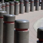 Anti-ram bollards vehicle barriers